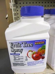 Fruit tree spray at Pro Ag Farmers