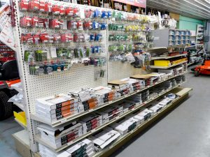 tools on the shelves of pro ag farmers