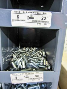 different styles of nuts and bolts from pro ag farmers