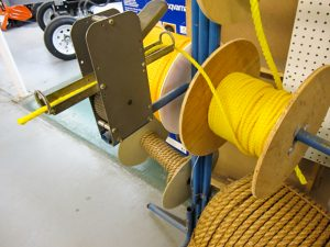 Rope on spindles to be cut and bought from Pro Ag Farmers